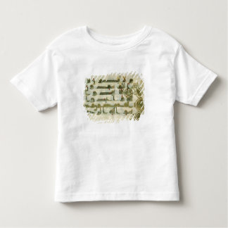 Page from the Koran, from Tunisia Toddler T-Shirt
