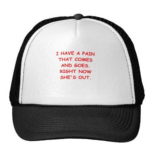 pain hats