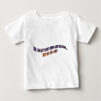 Paint and Crayons Baby T-Shirt