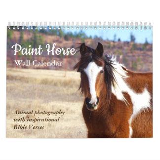 Paint Horse Calendar 2018 Animal Photography