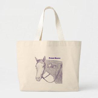 Paint Horse Tote Bag