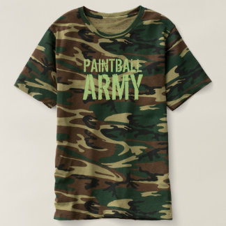 PAINTBALL ARMY CAMO T-SHIRT