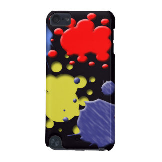 Paintball Splashes on iPod Touch Case