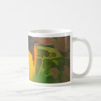 painted bird coffee mugs