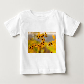 Painted Coreopsis tinctoria Wildflowers Baby T-Shirt