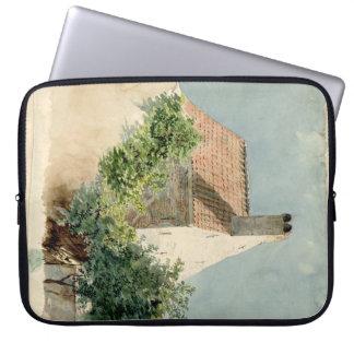 Painted Cottage Mac Sleeve