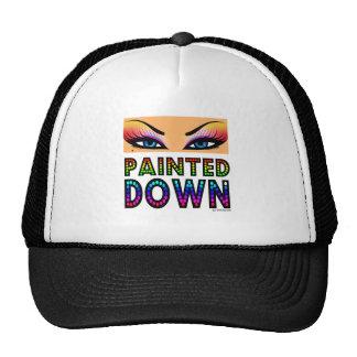 Painted Down T-shirt Trucker Hats