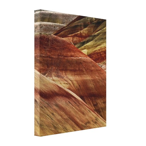 Painted Hills of Oregon - fine art on canvas Canvas Prints
