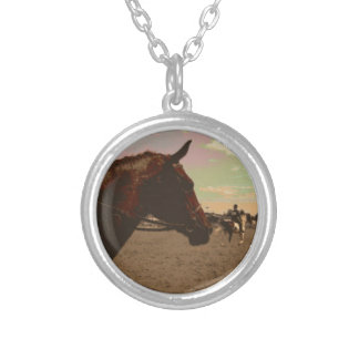Painted Horse Necklace