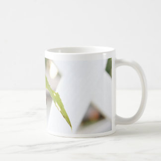 Painted Lady Caterpillar Basic White Mug