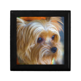 Painted Lady Yorkshire Terrier Gift Box