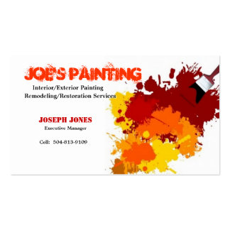 Painting Business Card-Sample II