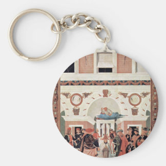 Painting Cycle For The Miracles Of St. Bernard: He Keychain