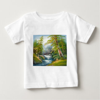 Painting Of A Mini Waterfall Infant T-Shirt