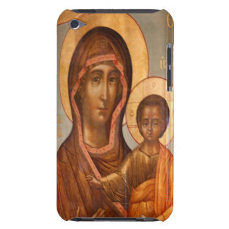 Painting of the Virgin Mary with Jesus Christ Barely There iPod Cases