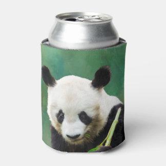Painting Panda Bear Long Hui Can Cooler
