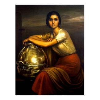 "Painting ""the Fuensanta"" of Julio Romero de Torres Postcard"