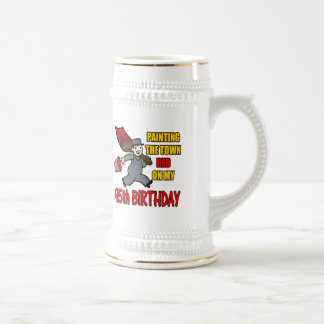 Painting The Town 95th Birthday Gifts Beer Stein