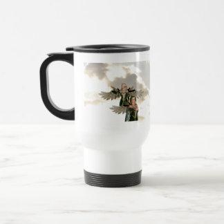 Pair of Angels Plastic Travel Mug
