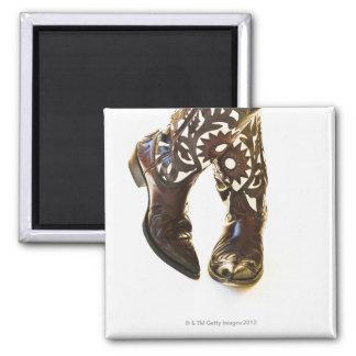 Pair of cowboy shoes 2 magnet