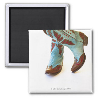Pair of cowboy shoes 3 magnets