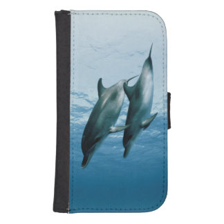 Pair of Dolphins Samsung S4 Wallet Case