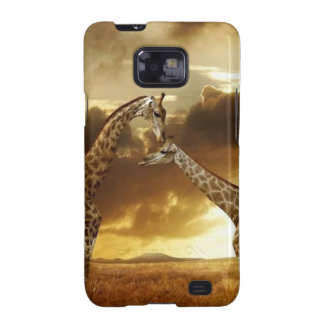 Pair of Giraffes Galaxy SII Case