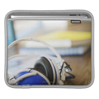 Pair of Headphones iPad Sleeve