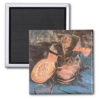Pair of Shoes, Vincent van Gogh Vintage Still Life Magnet