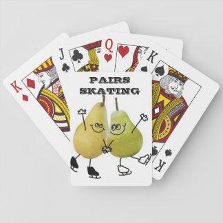 Pairs Skating Playing Cards