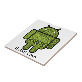 Paisley Character for the Android™ Robot Tile