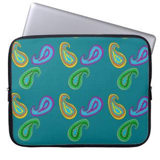 Paisley Design on Laptop Sleeve