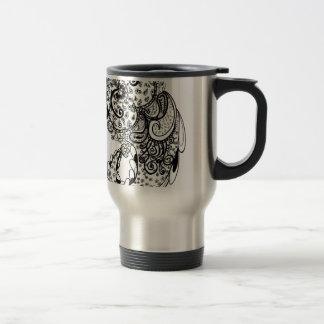 Paisley divino tazas de café