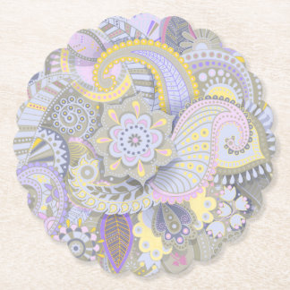 Paisley Party Supplies Party Coaster