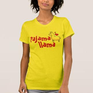 Pajama Llama Pajama Top T Shirts
