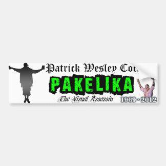 Pakelika Tribute Bumper Sticker