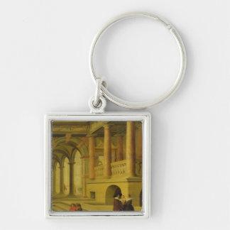 Palace Courtyard Key Ring