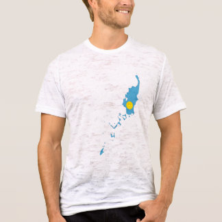 Palau Flag Map T-Shirt