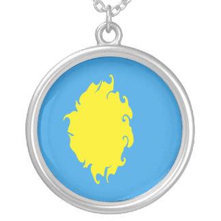 Palau Gnarly Flag Necklace