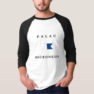 Palau Micronesia Alpha Dive Flag T-Shirt
