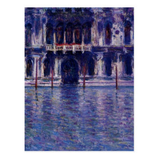 Palazzo Contarini by Claude Monet Postcard