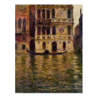 Palazzo Dario by Claude Monet Postcard