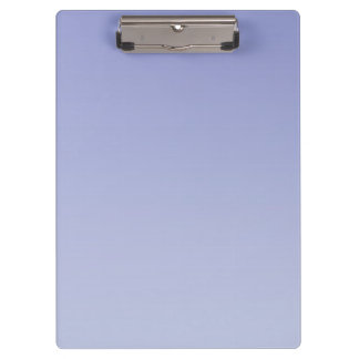 """Pale Purple Ombre"" Clipboard"