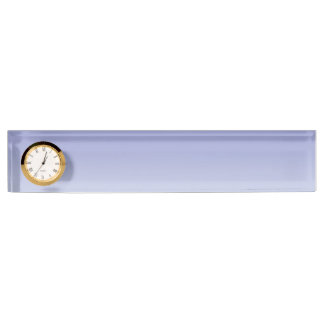 Pale Purple Ombre Desk Nameplates