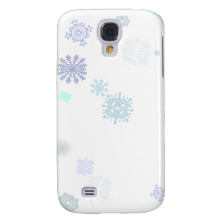 Pale Snowflakes Galaxy S4 Case
