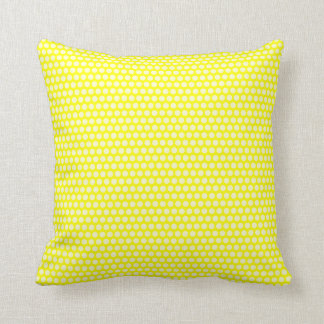 Pale Yellow Polka Dots Pillows