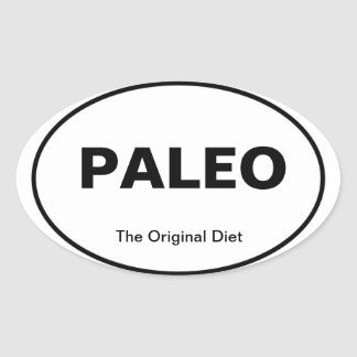 PALEO car sticker