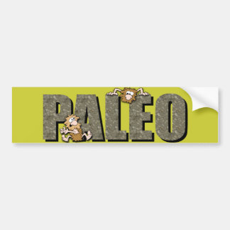 Paleo Cavemen Bumper Sticker