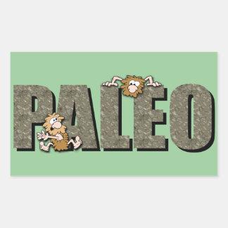 Paleo Cavemen Rectangular Sticker