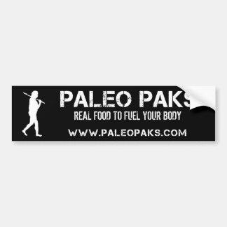 Paleo Paks Bumper Sticker